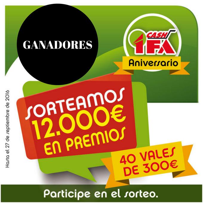 GANADORES ANIVERSARIO CASH