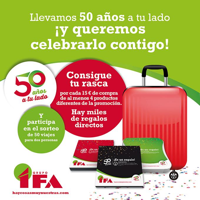 Desde IFA llevamos 50 años a tu lado.
