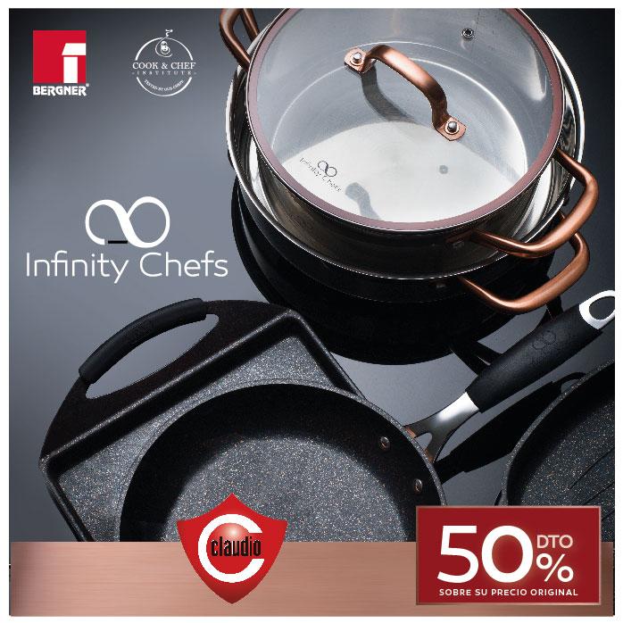 Colecciona la batería Infinity Chefs en Claudio