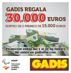 Â¡En Supermercados Gadis regalamos 30.000 euros!