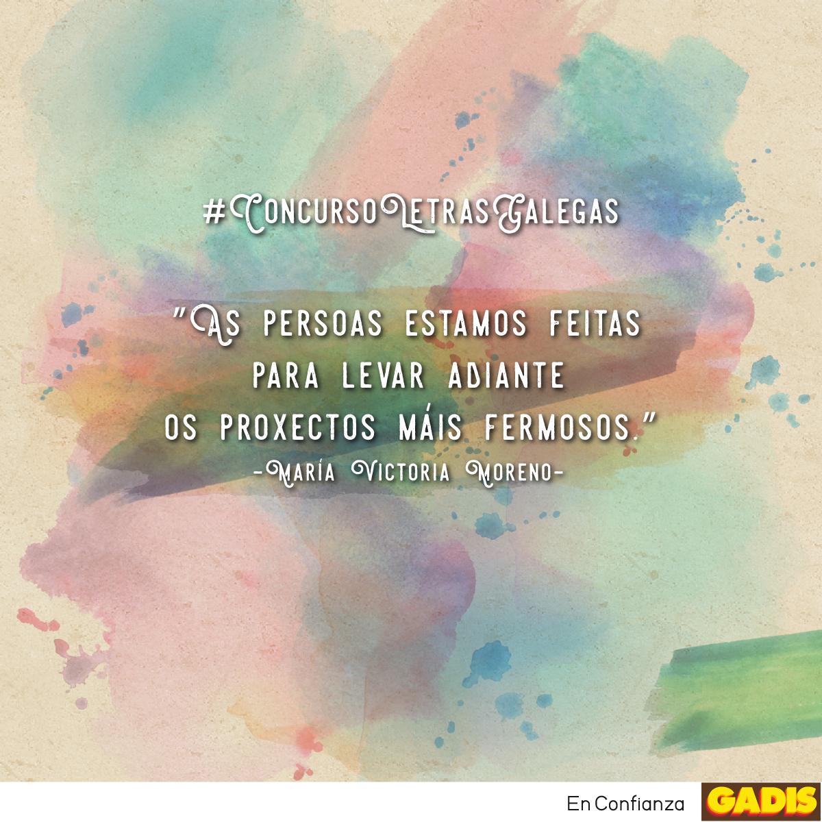 Concurso en nuestras redes sociales por el Día das Letras Galegas