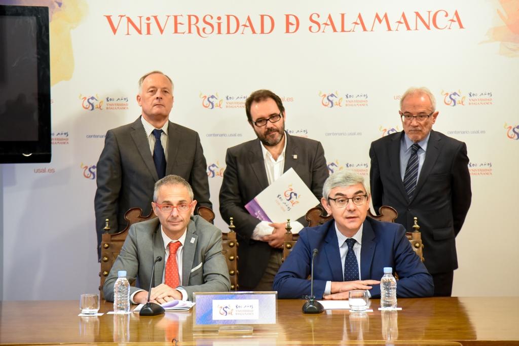 GADIS REAFIRMA SU COMPROMISO CON SALAMANCA APOYANDO EL VIII CENTENARIO DE LA UNIVERSIDAD MÁS ANTIGUA DE ESPAÑA