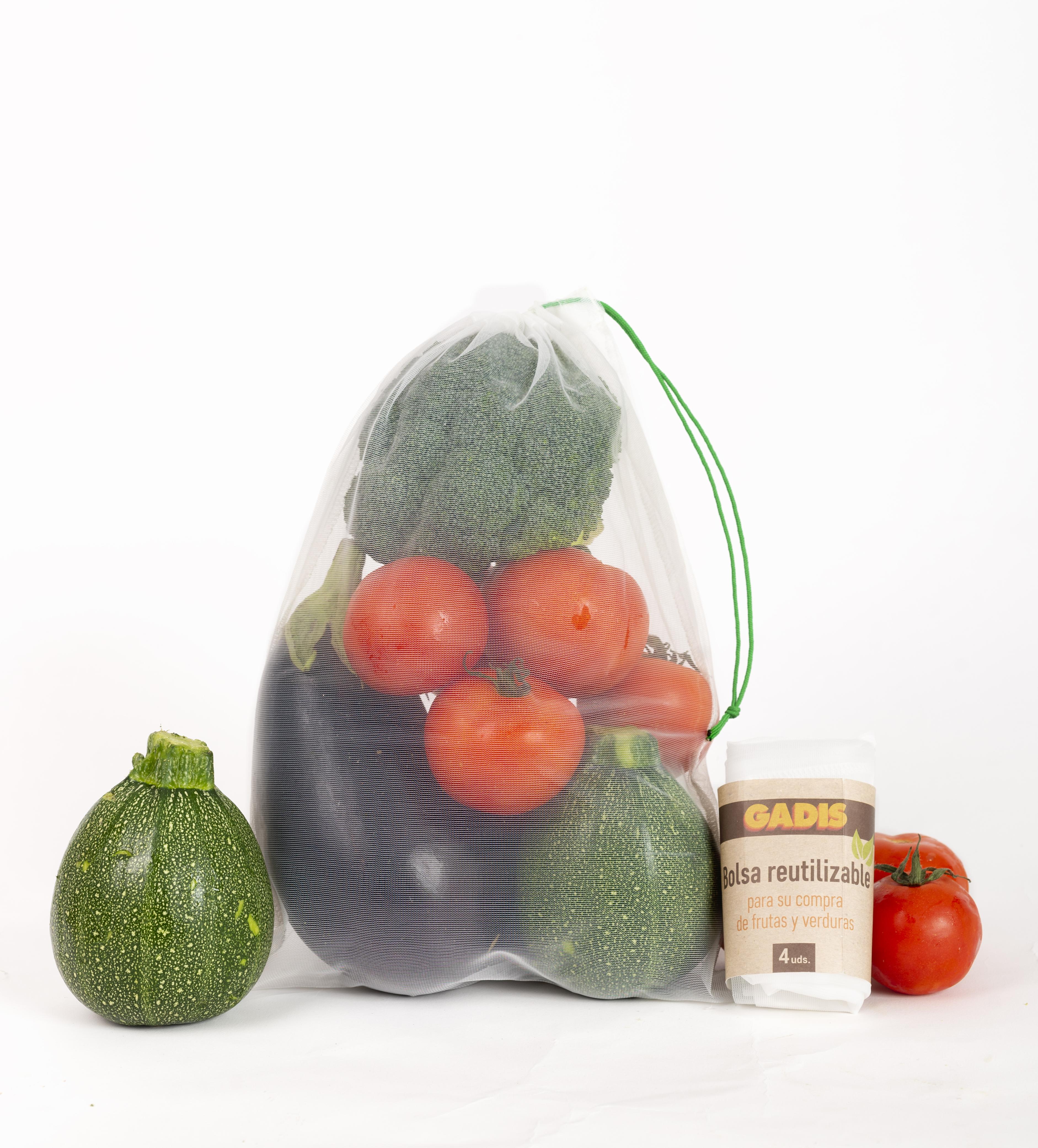 Â¡Ya tenemos bolsas de malla para tus frutas y verduras!