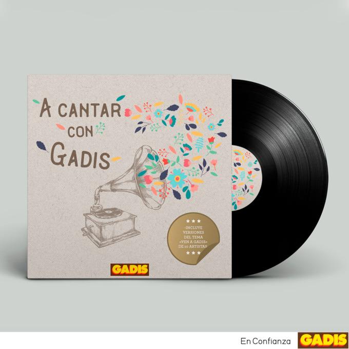 """Publicamos el primer disco de versiones de nuestro tema """"Ven a Gadis"""""""