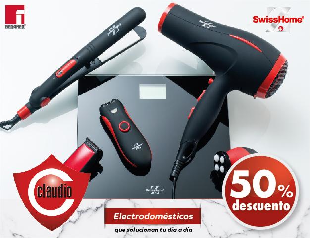 Consigue los electrodomésticos SwissHome de la mano de Claudio
