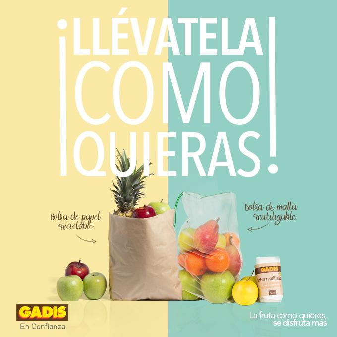 Â¡Presentamos las nuevas bolsas de papel reciclable para tus frutas y verduras!