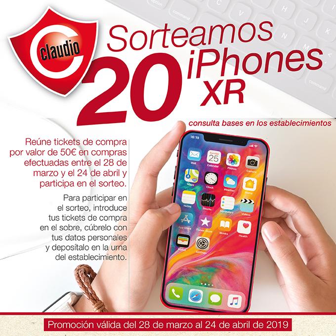 Â¡En Claudio sorteamos 20 Iphones XR!