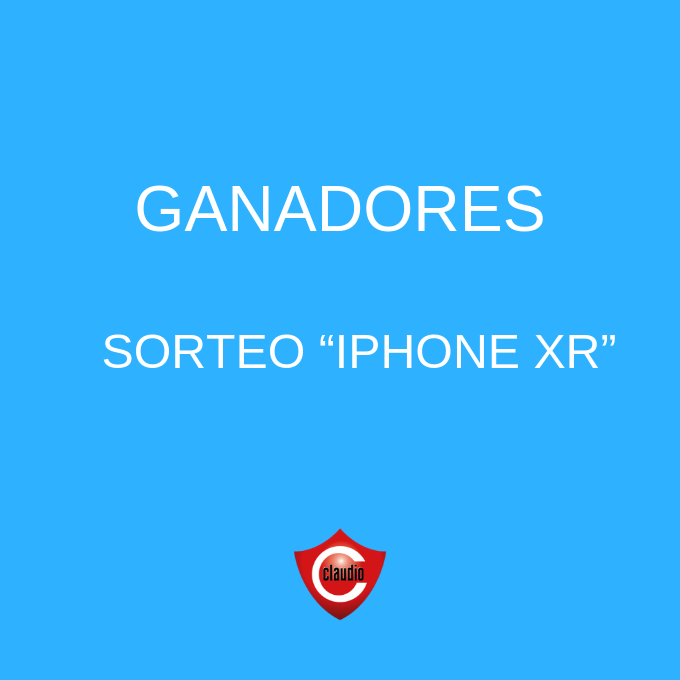 Ganadores 20 iPhone XR 64 Gb