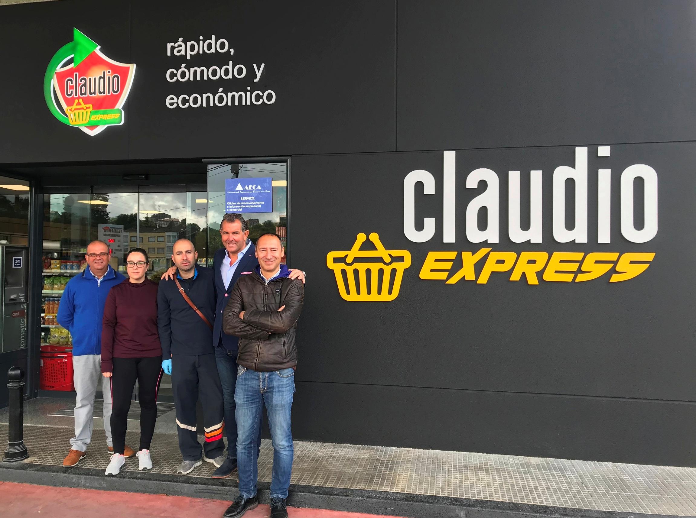 GADISA PROSIGUE LA IMPLANTACIÓN  DE SU RED DE FRANQUICIAS CON EL  6º CLAUDIO EXPRESS EN 2019