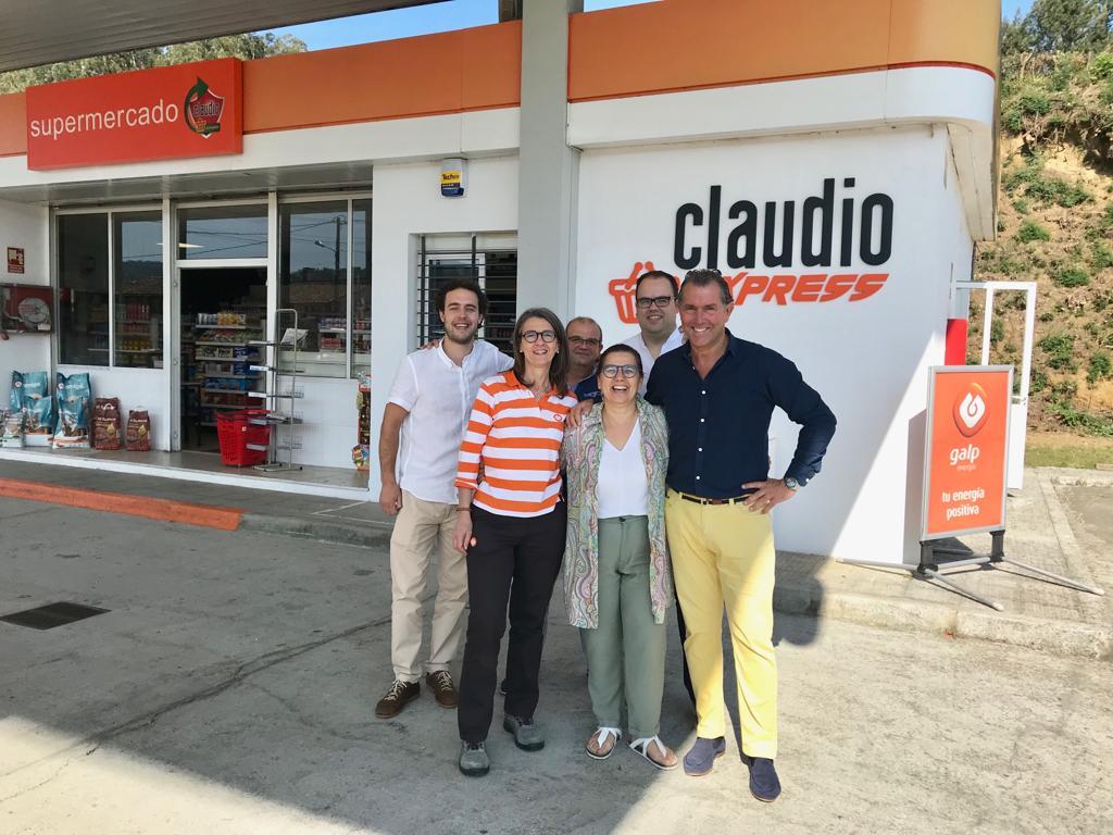 GADISA ABRE EN UNA ESTACIÓN DE SERVICIO DE OZA-CESURAS EL  9º CLAUDIO EXPRESS DEL 2019