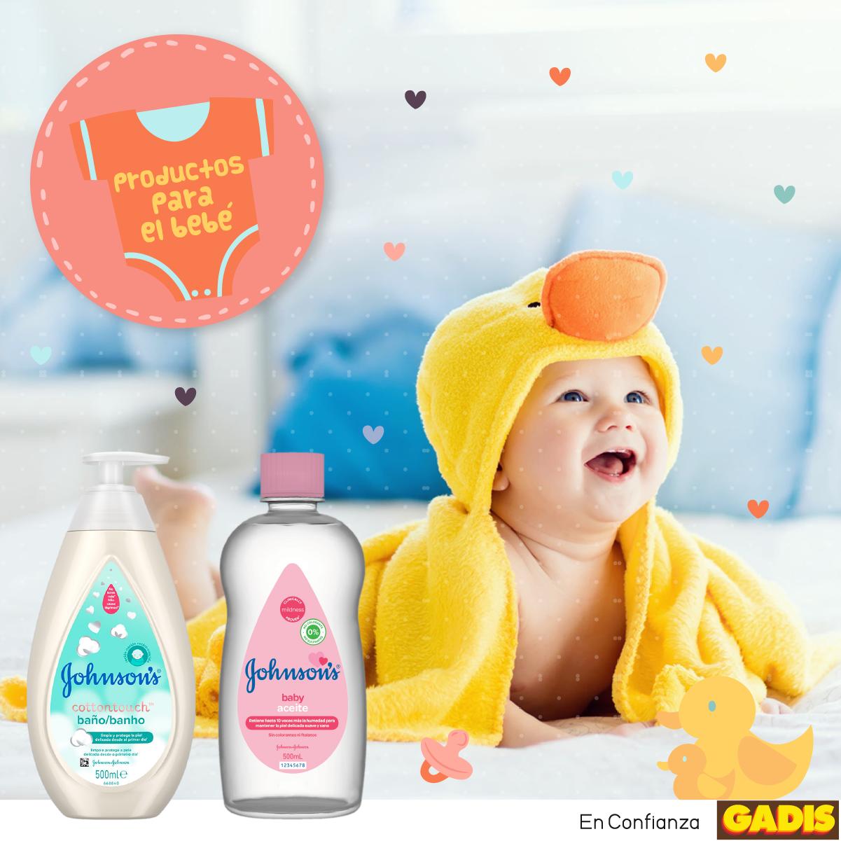 Productos esenciales para el cuidado corporal del bebé