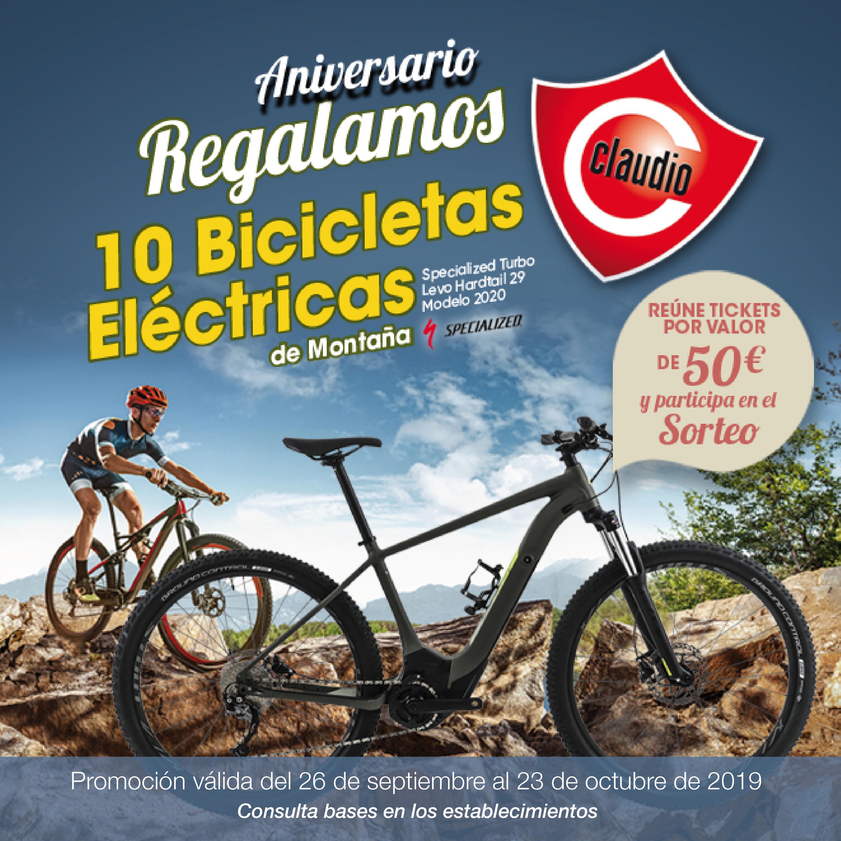 ¡Regalamos bicicletas eléctricas de montaña! ¿Quieres la tuya?