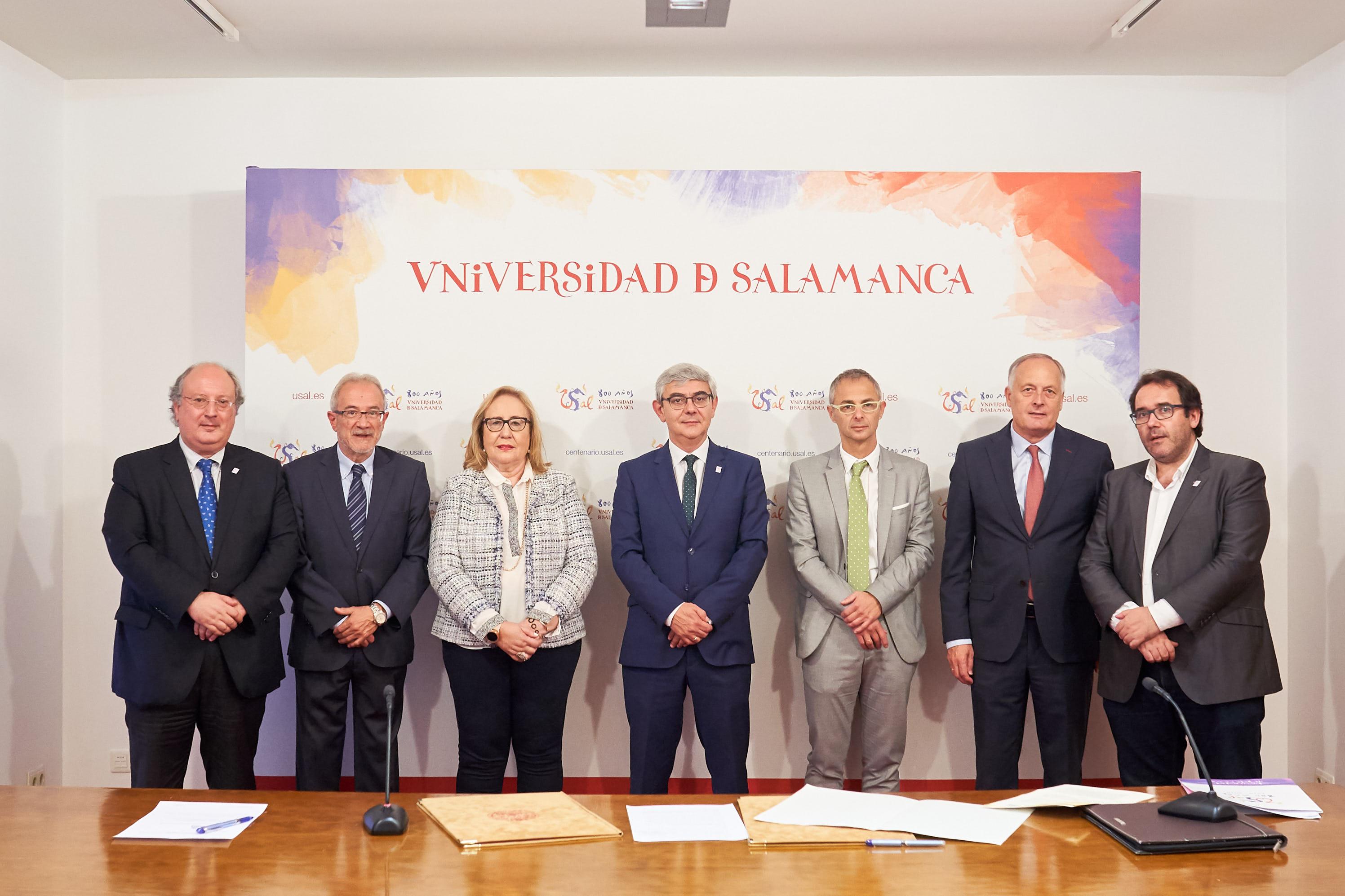 Gadis incrementa su compromiso con el  VIII Centenario de la Universidad de Salamanca