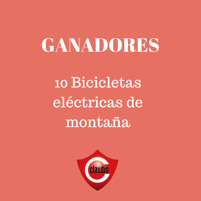 GANADORES BICICLETAS ELÉCTRICAS
