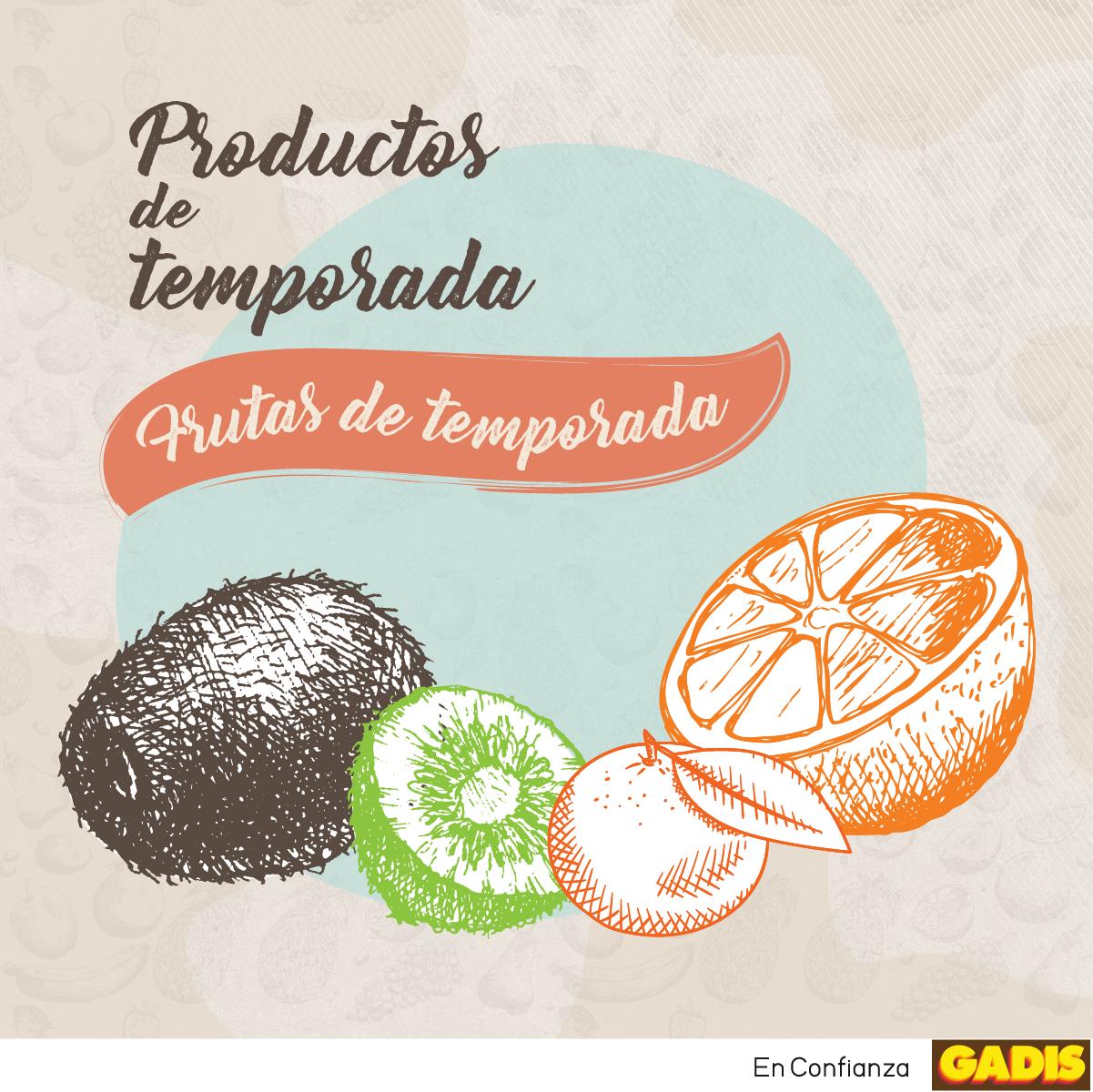 Â¡Descubre las frutas de temporada!