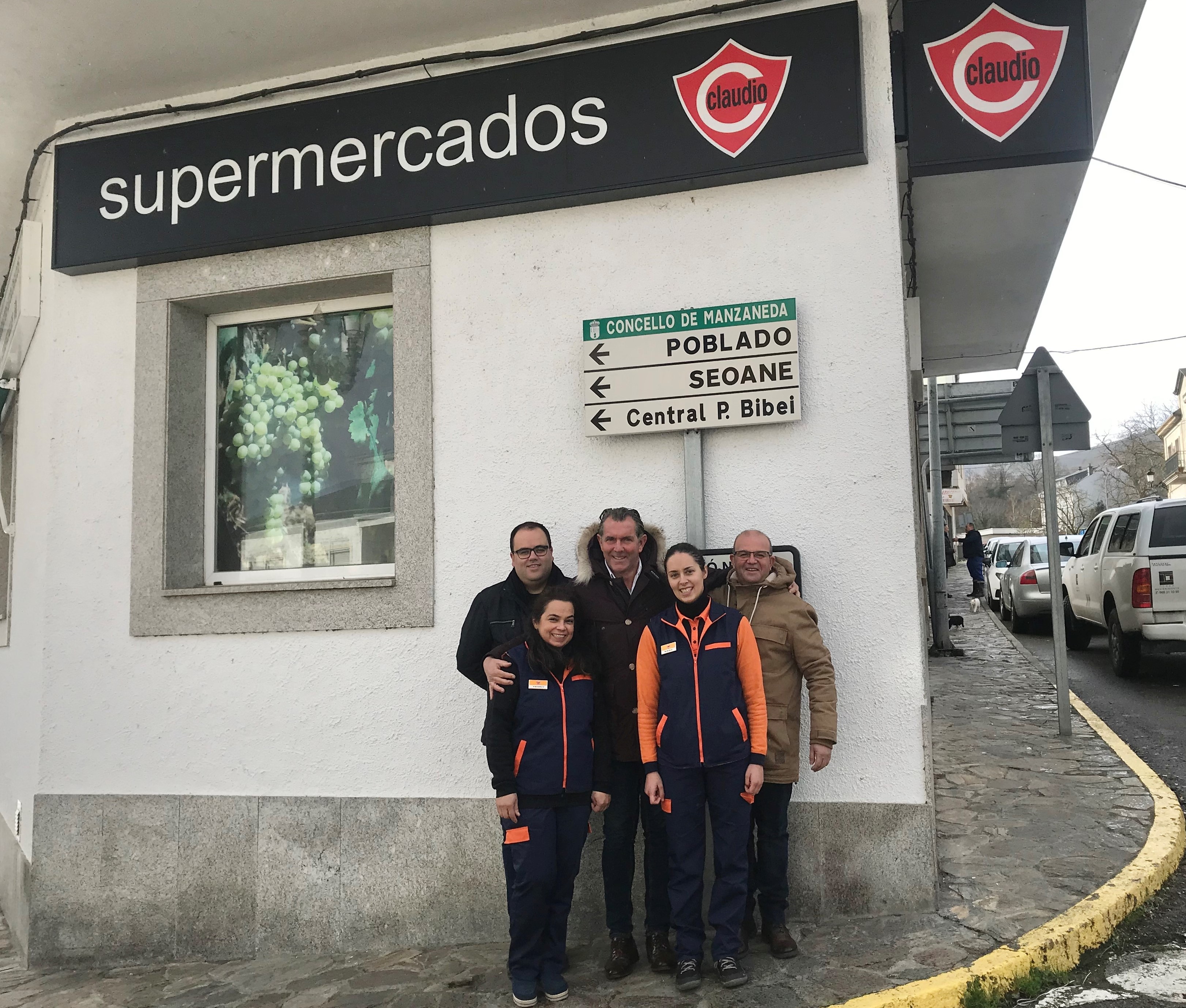 INAUGURAMOS EL PRIMER SUPERMERCADO CLAUDIO FRANQUICIADO DEL 2020 EN MANZANEDA