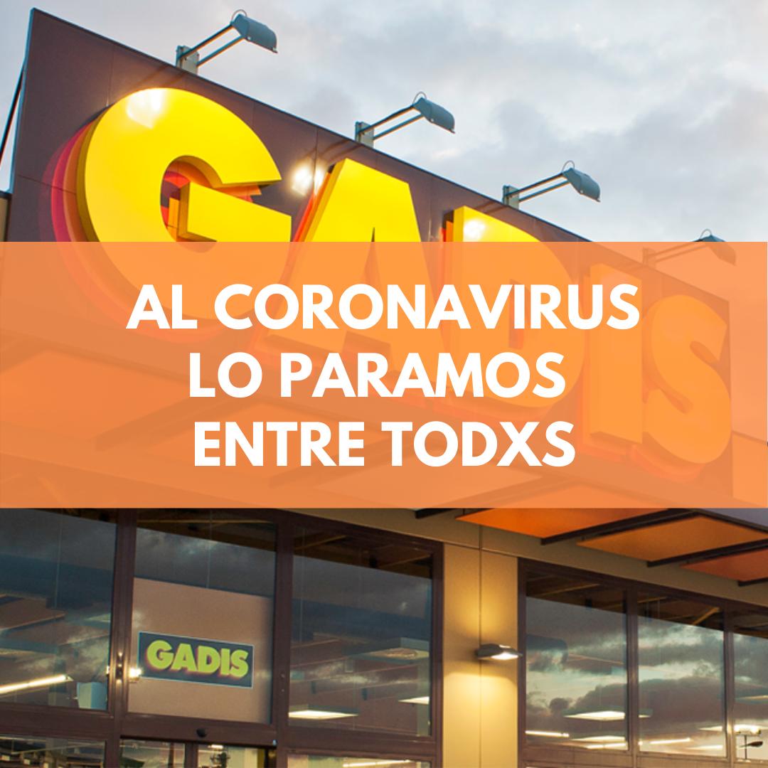 AL CORONAVIRUS LO PARAMOS ENTRE TODXS