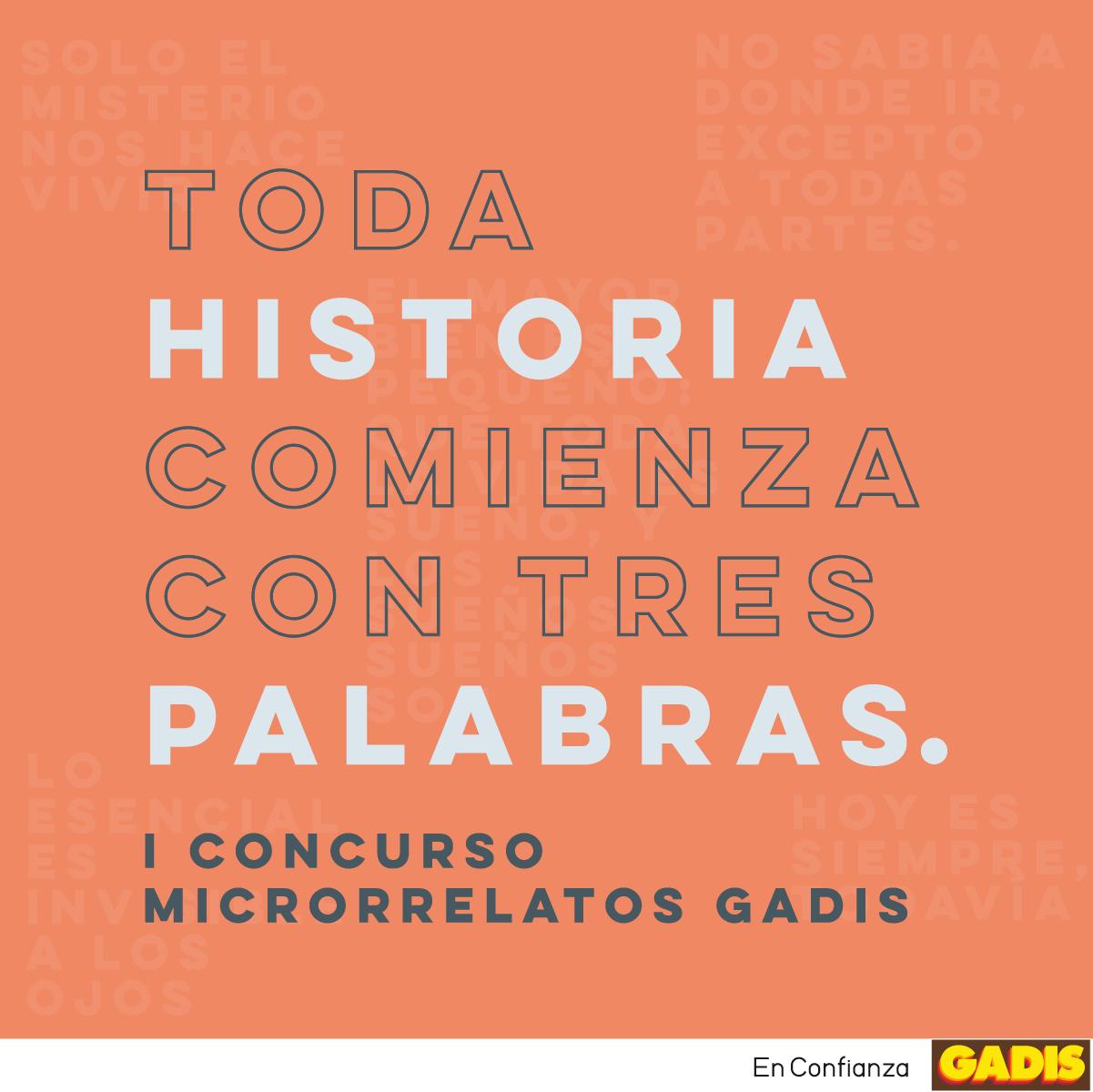 I CONCURSO MICRORRELATOS GADIS