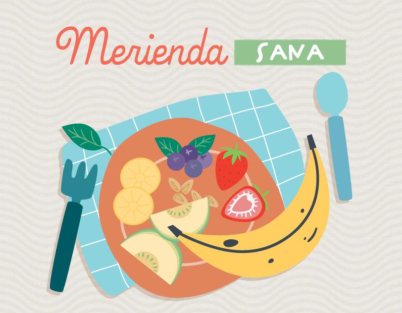 MERIENDAS SANAS: Tortitas de plátano, crepes de manzana y smoothie bowl de arándanos
