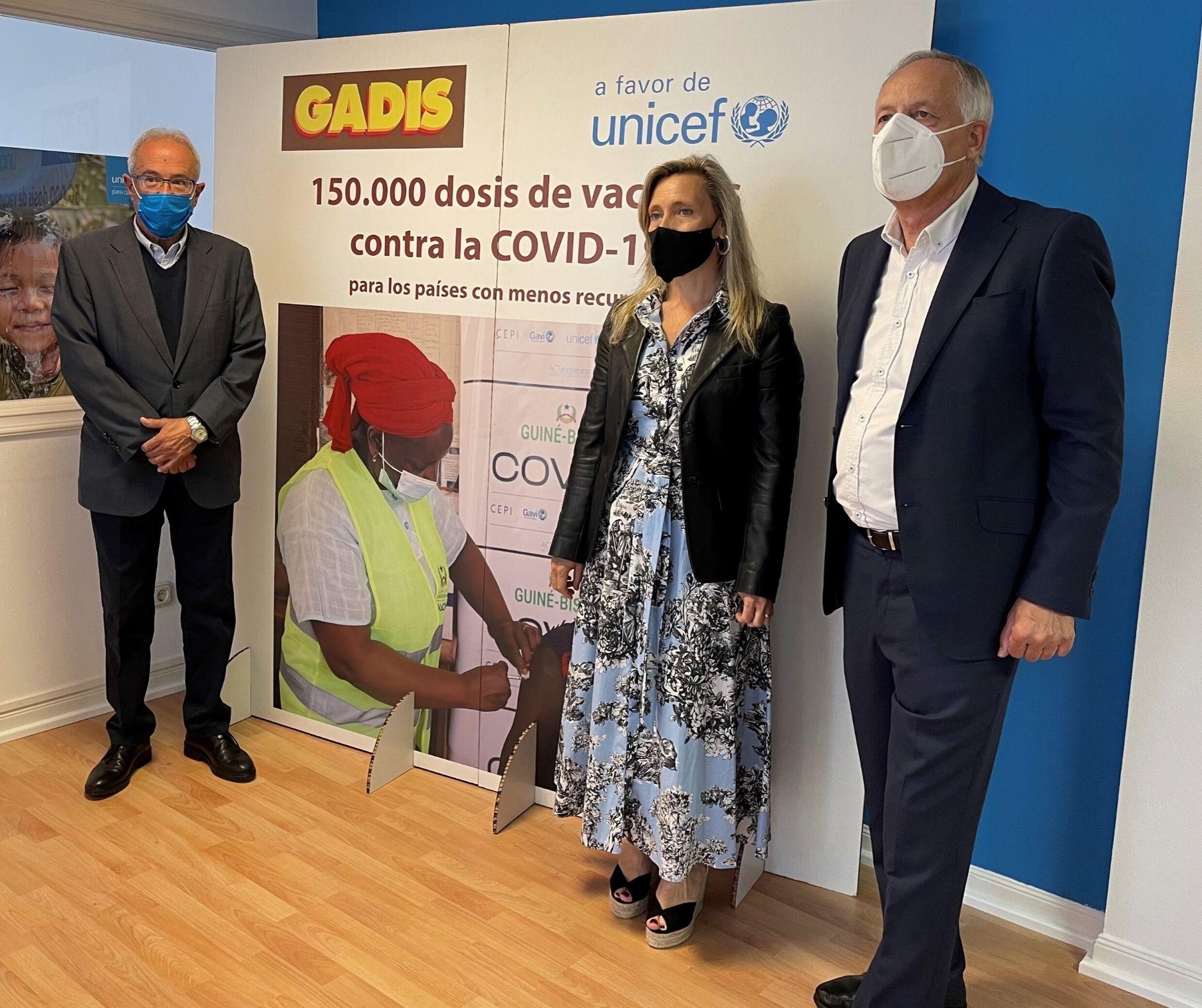 COLABORAMOS CON UNICEF PARA ENVIAR 150.000 VACUNAS CONTRA LA COVID-19 A PAÍSES CON MENOS RECURSOS