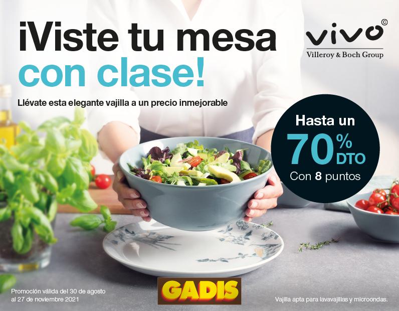 Â¡Viste tu mesa con clase con VIVO!