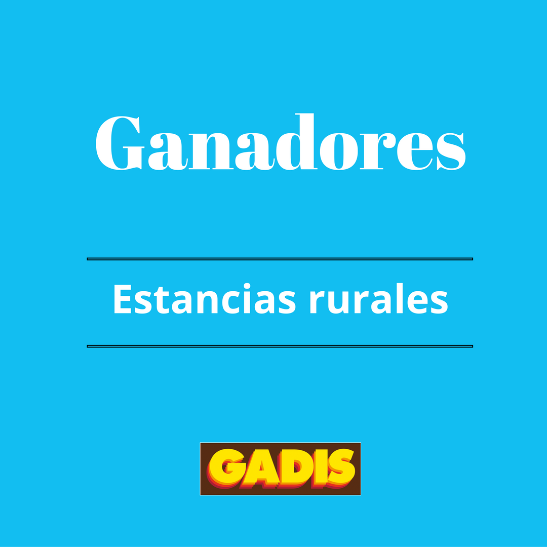 GANADORES 20 estancias rurales