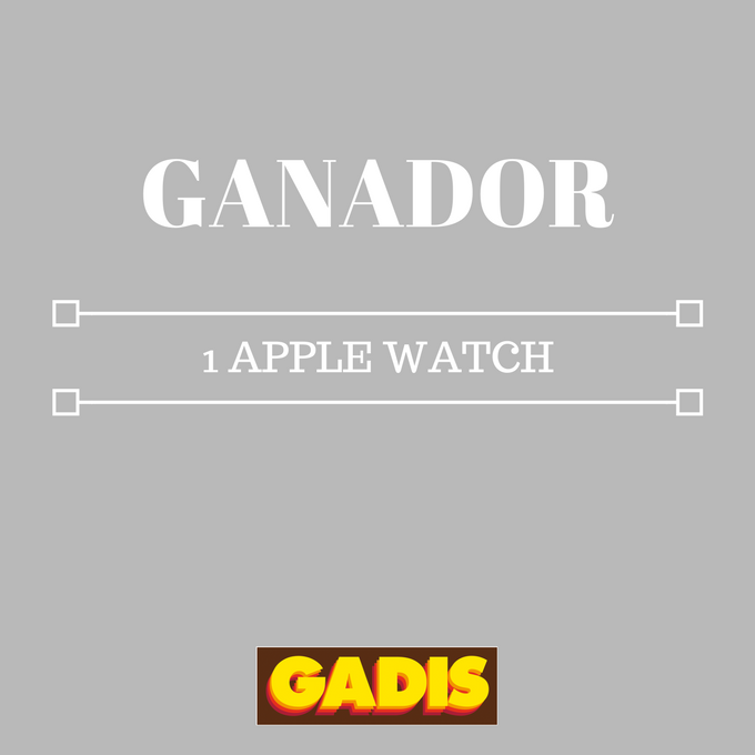 GANADOR 1 APPLE WATCH